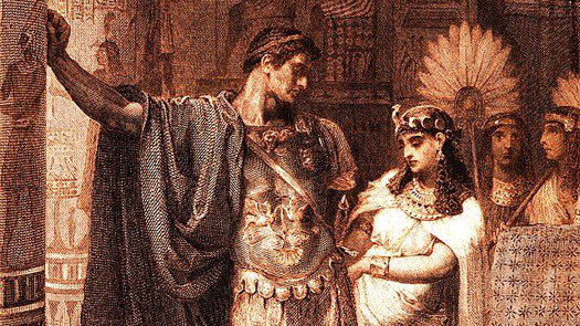 Julius Caesar and Cleopatra VIII