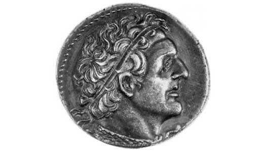 Ptolemy I coin