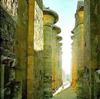 The Temple of Karnak at Luxor