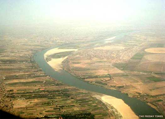 River Nile at Khartoum