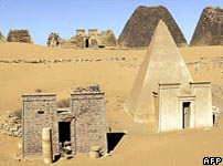 Nubian tombs