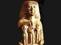 Statue from Golden Mummies tombs
