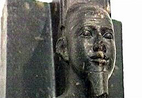 Statue of Egyptian pharaoh Taharqa