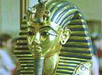 Headmask of Tutankhamen