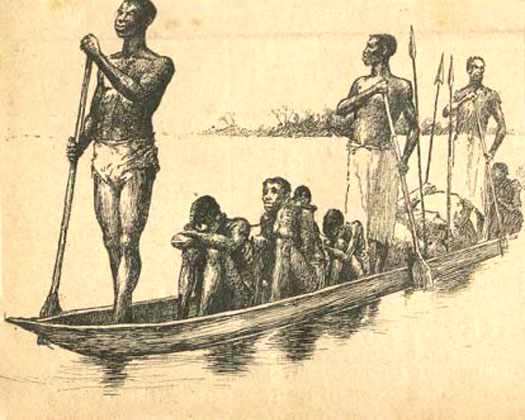 Slave traders in the Kongo region