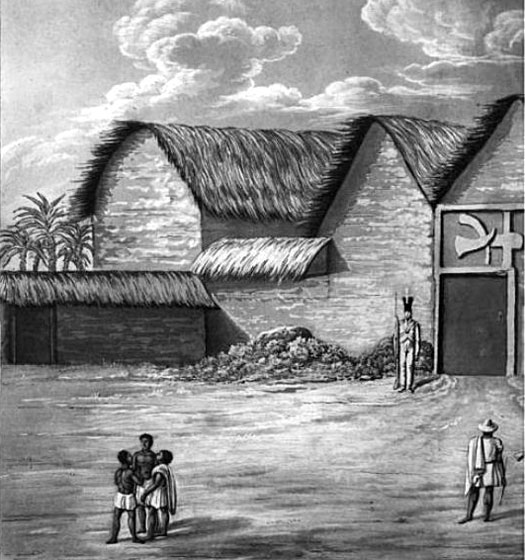 Gold mining history in ghana west