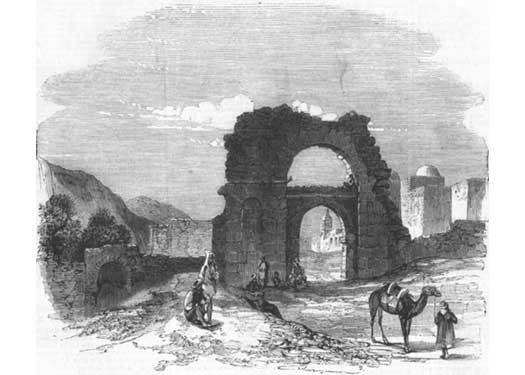 Zowan Gate near Carthage