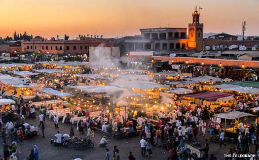 Djemaa el-Fna in Marrakech