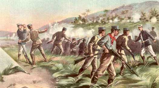 US Marines land on Cuba in 1898