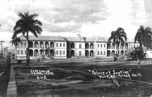Palace of Justice in Haiti