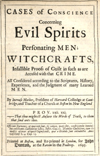 Cases of Conscience Concerning Evil Spirits by Increase Mather