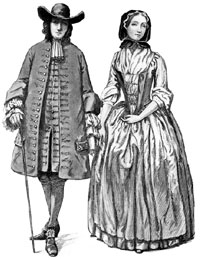 Quaker couple