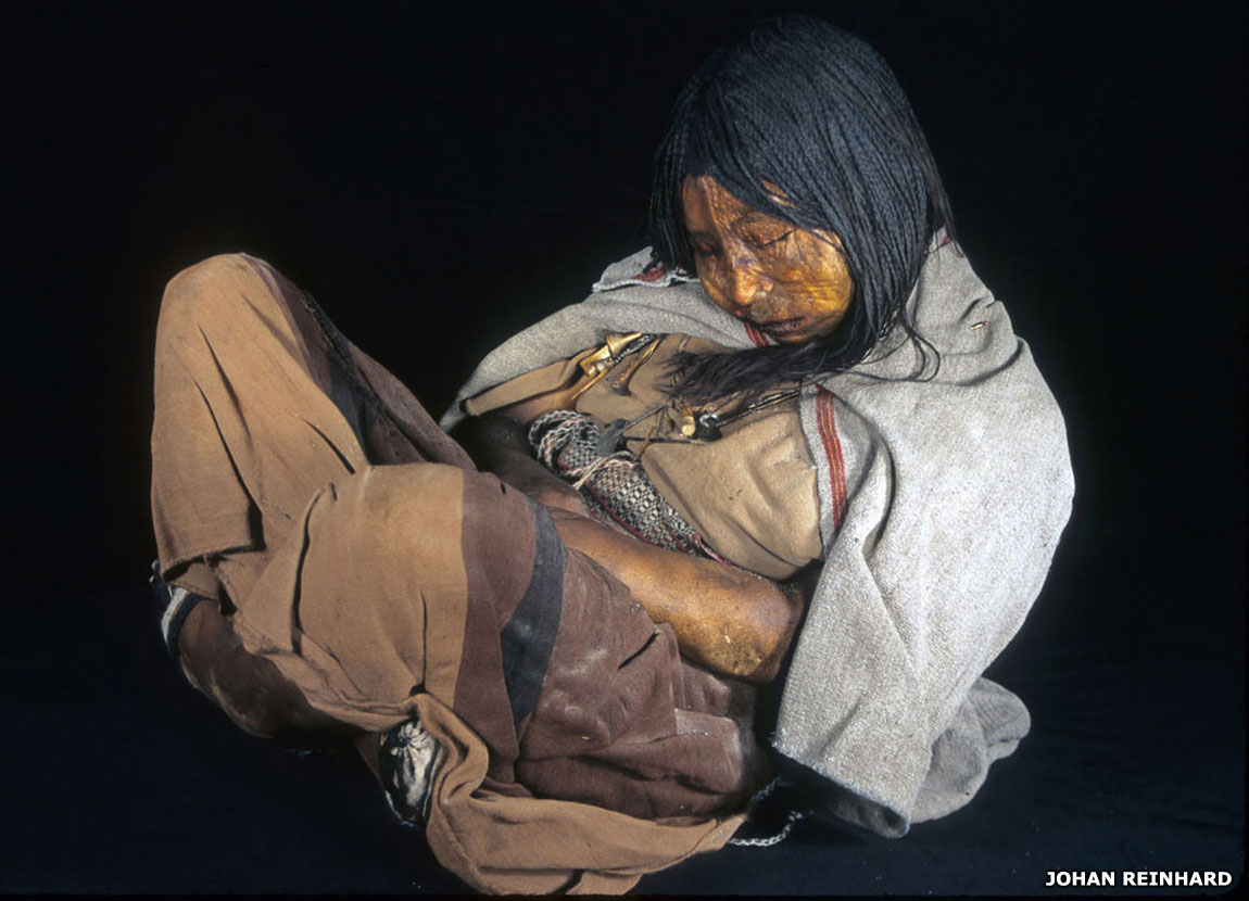 Andes mummy
