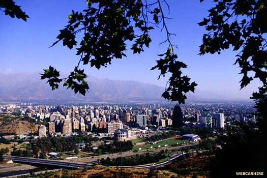 Santiago in Chile