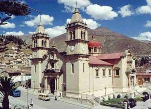 Cathedral of Santa Ana in Tarma