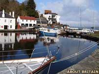 Crinan in Scotland