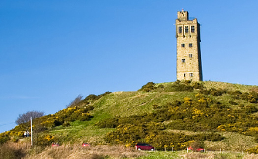 Castle Hill in Huddersfield