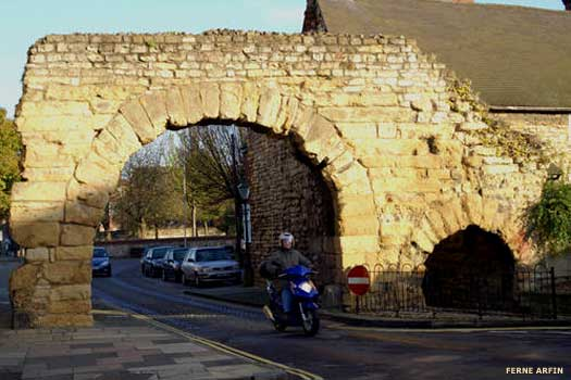 Newport Gate in Lincoln