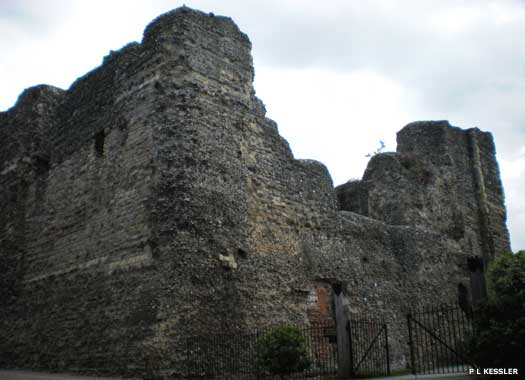 The keep of Canterbury Castle