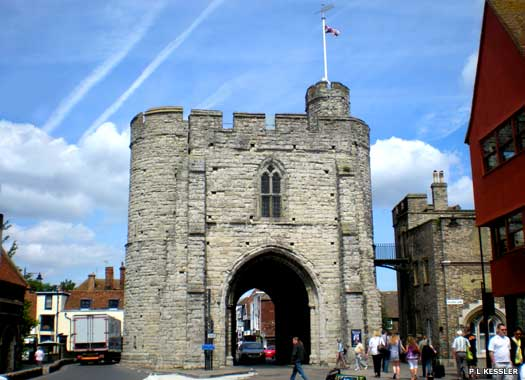 The West Gate in Canterbury