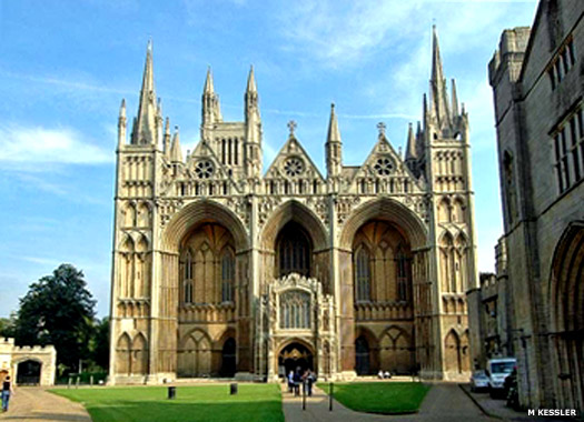 Peterborough Cathedral, Peterborough Urban District, Cambridgeshire