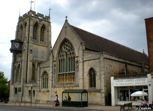 The Parish Church of St John the Baptist Epping