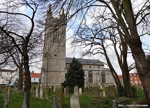 St Mary's Church, Bungay, Suffolk