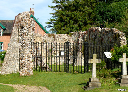 Chapel of St James' Leper Hospital, Dunwich, Suffolk