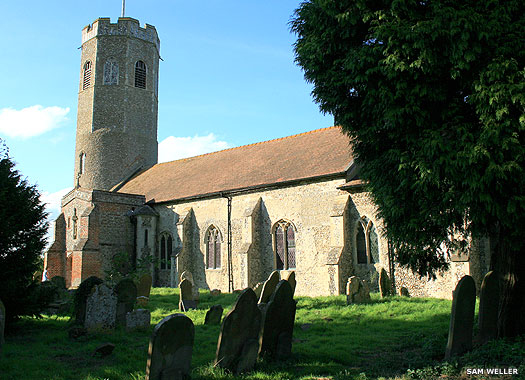 St Andrew's Church, Ilketshall, Suffolk