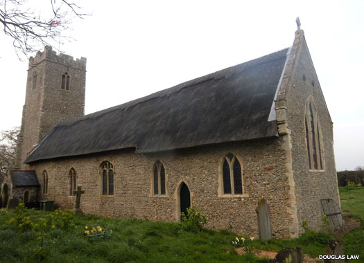 Church of St Lawrence, South Cove, Suffolk