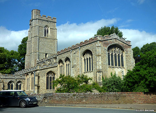St George's Church, Sudbury, Suffolk