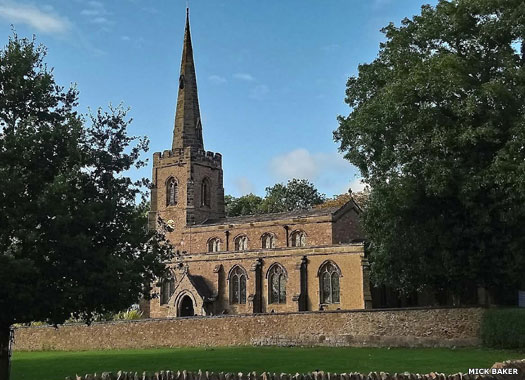 St Michael's Church, Stoney Stanton, Leicestershire