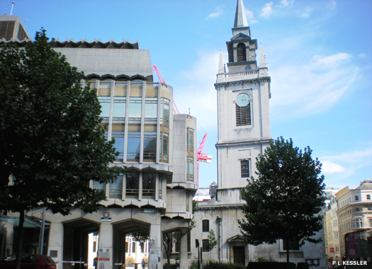 The Guild Church of St Lawrence Jewry, Gresham Street, City of London