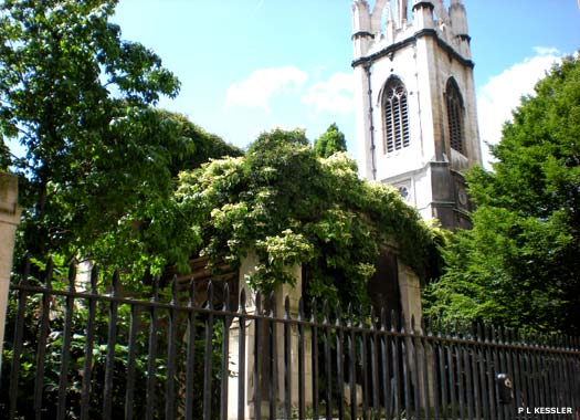 St Dunstan in the East Church, City of London