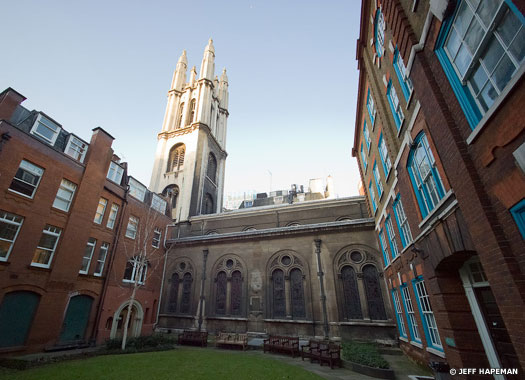 Church of St Michael Cornhill, City of London