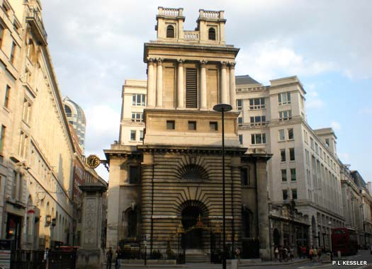 St Mary Woolnoth, City of London