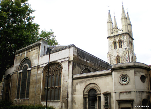St Sepulchre-without-Newgate Church, London