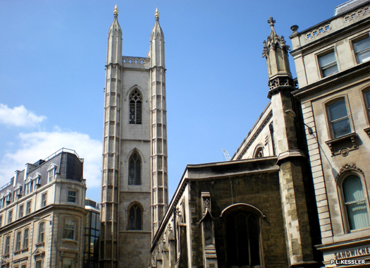 Church of The Guild Church of St Mary Aldermary, City of London