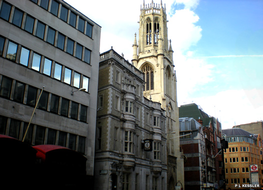 Church of St Dunstan-in-the-West, City of London