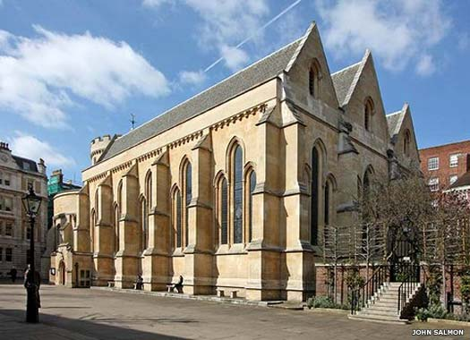The Temple Church, City of London