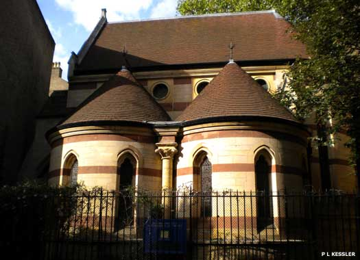 The Chapel of the House of St Barnabas-in-Soho
