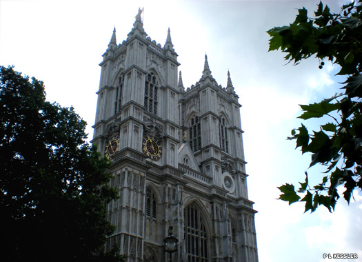 Westminster Abbey's towers