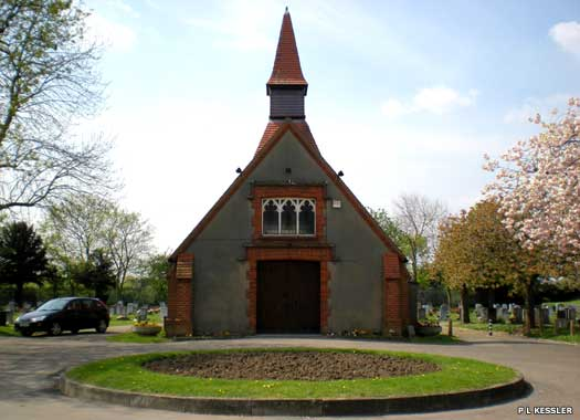 Eastbrookend Cemetery Chapel