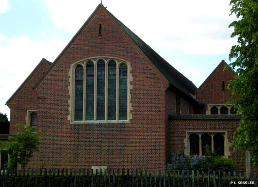 The Parish Church of St Elisabeth's Becontree