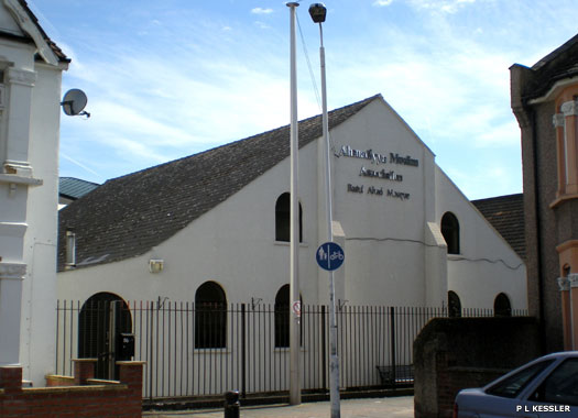 The Church of Jesus Christ of Latter-Day Saints, and Upton Park District Synagogue, East Ham, London
