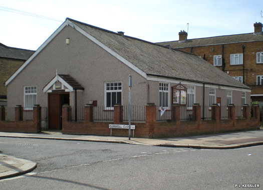 Bonny Downs Baptist Church, East Ham, London
