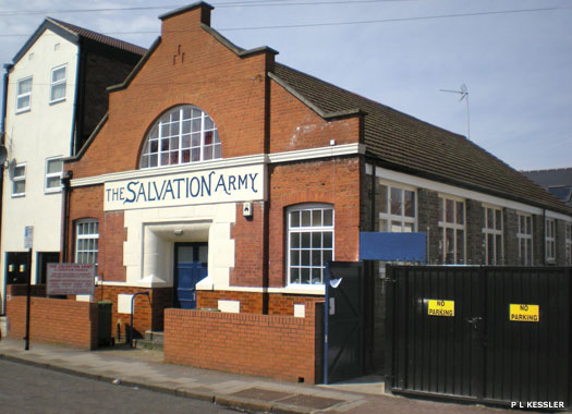 Salvation Army Centre, East Ham, London
