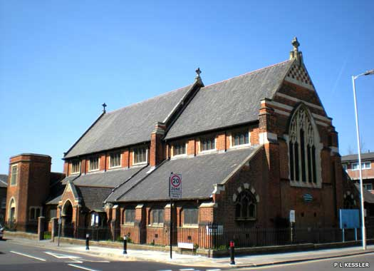The Parish Church and Community Centre of St Paul Goodmayes