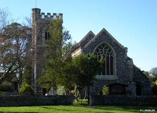 The Parish Church of St John the Evangelist Havering-atte-Bower
