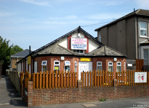 Church of God of Prophecy, Leyton, Walthamstow, East London
